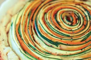 Spiral Veggie Tart